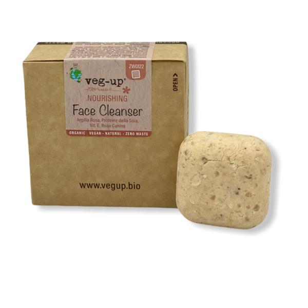 Detergente Viso Solido per Pelli Secche Nourishing