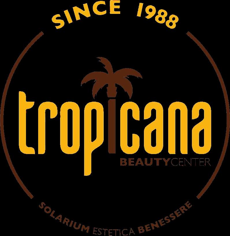 Logo Tropicana Beauty Center, solarium di Ottaviano